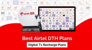 Ways to recharge DTH plan online.
